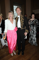 LESLIE & MARGARET MACLEOD-MILLER  at the 13th annual Russian Summer Ball held at the Banqueting House, Whitehall, London on 14th June 2008.<br /><br />NON EXCLUSIVE - WORLD RIGHTS