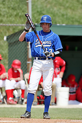 15 February 2007: Ryan Strausberger. Indiana State Sycamores gave up the first game of the double-header by a score of 16-6 to the Illinois State Redbirds at Redbird Field on the campus of Illinois State University in Normal Illinois.