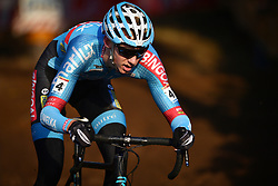 December 26, 2018 - Heusden-Zolder, BELGIUM - Belgian Michael Vanthourenhout pictured in action during the men Elite race of the seventh stage (out of nine) in the World Cup cyclocross, Wednesday 26 December 2018 in Heusden-Zolder, Belgium. BELGA PHOTO DAVID STOCKMAN (Credit Image: © David Stockman/Belga via ZUMA Press)