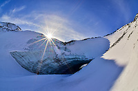 The Ice Cave near Haines Junction is yet another wonder of the Yukon!