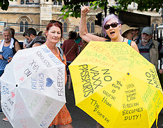 Anti-Vaxx Protest 19th July 2021