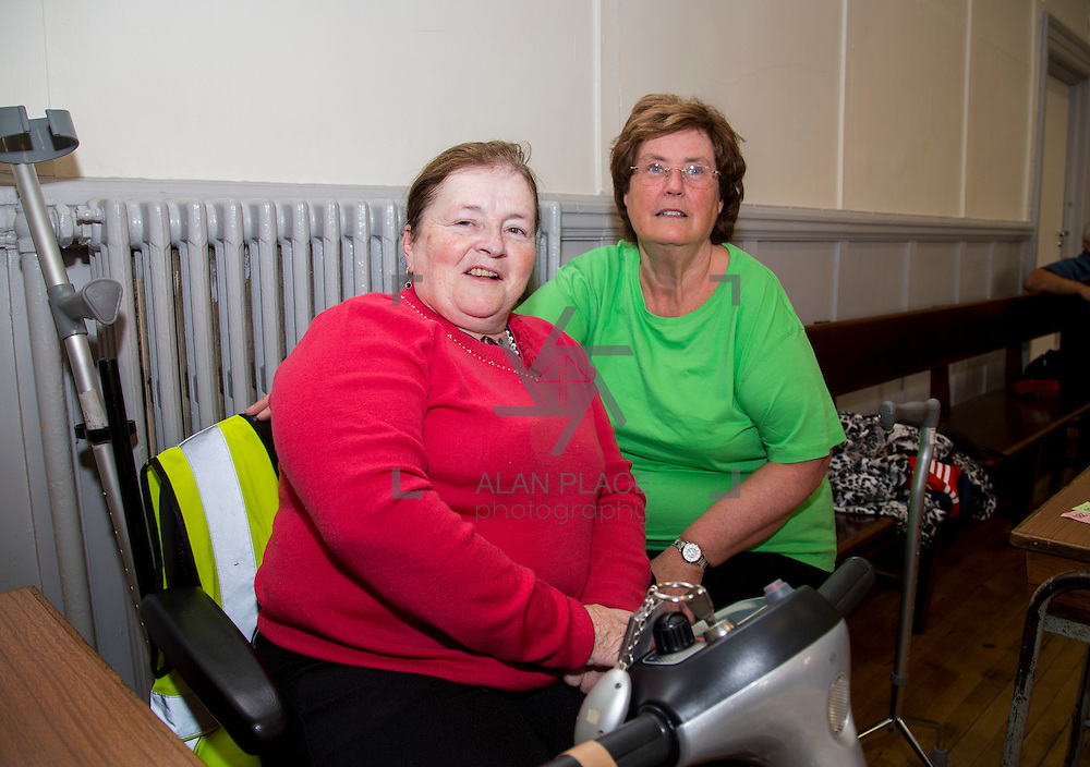 01.10.14            <br /> The Limerick City Community Safety Partnership will host a Safety Information Day for Older People. The event will feature important personal and home safety information for older people. Nutritional advice, occupational therapy, and care and repair demonstrations will also be provided. Advice and literature on a range of issues will be provided on the day by agencies including An Garda Síochána, Limerick City and County Council, Home Instead Senior Care, Limerick Fire and Rescue Service and the HSE. <br /> Attending the event at St. Johns Pavilion were, Eileen Bourke and Annmarie Brodrick of the IWA. Picture: Alan Place.