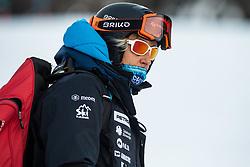 Darja Crnko during the Ladies' Giant Slalom at 57th Golden Fox event at Audi FIS Ski World Cup 2020/21, on January 16, 2021 in Podkoren, Kranjska Gora, Slovenia. Photo by Vid Ponikvar