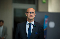 DEU, Deutschland, Germany, Berlin, 26.09.2017: Frank Pasemann (MdB, AfD) vor der ersten Fraktionssitzung der AfD-Bundestagsfraktion im Deutschen Bundestag.