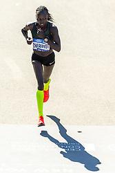 04-11-2018 USA: 2018 TCS NYC Marathon, New York<br /> Race day  TCS New York City Marathon / Vivian Cheruiyot finish second in 2:26:02 (Kenya)