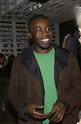 Chris  Ofili, Opening of Black British Style, V.& A. 4 October 2004. ONE TIME USE ONLY - DO NOT ARCHIVE  © Copyright Photograph by Dafydd Jones 66 Stockwell Park Rd. London SW9 0DA Tel 020 7733 0108 www.dafjones.com