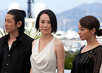 Hikari (Vers La Lumiere / Radiance) photo call at the 70th Cannes Film Festival Tuesday 23rd May 2017, Cannes, France. Photo credit: Doreen Kennedy