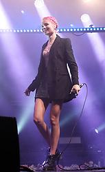 Nina Nesbitt at SWG3 in Glasgow as part of her 'The Sun Will Come Up' UK Tour 2019 <br /> <br /> Pictured: Nina Nesbitt <br /> <br /> (c) Aimee Todd | Edinburgh Elite media