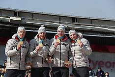 Men - 4 Man bobsleigh event - 25 February 2018