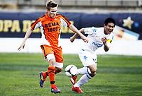 Fotball, 28. januar 2012 , Copa del Sol<br /> Dalian Aerbin FC – Rosenborg BK 1-3<br /> Jonas Svensson , RBK<br /> Chang Lin , Dalian