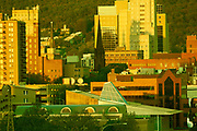 Skyline, Reading, PA including Reading Eagle RACC Miller Center for the Arts.