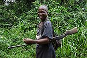 Local hunter<br /> Republic of Congo (Congo - Brazzaville)<br /> AFRICA