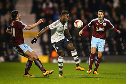 Moussa Dembele of Fulham in action - Mandatory by-line: Jason Brown/JMP - Mobile 07966 386802 08/03/2016 - SPORT - FOOTBALL - Fulham, Craven Cottage - Fulham v Burnley - Sky Bet Championship
