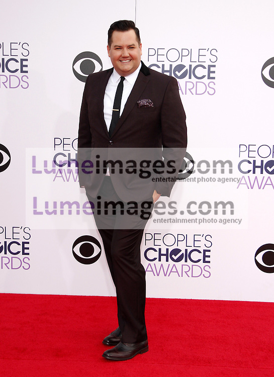 Ross Mathews at the 41st Annual People's Choice Awards held at the Nokia L.A. Live Theatre in Los Angeles on January 7, 2015. Credit: Lumeimages.com