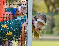 Elzahn Naude of Eunice during day two of the FNB Private Wealth Super 12 Hockey Tournament held at Oranje Meisieskool in Bloemfontein, South Africa on the 7th August 2016, <br /> <br /> Photo by:   Frikkie Kapp / Real Time Images
