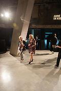 JOAN JONAS; AMANDA WILKINSON, The Tanks at Tate Modern, opening. Tate Modern, Bankside, London, 16 July 2012