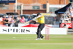 Gloucestershire's Benny Howell<br /> <br /> Photographer Simon King/Replay Images<br /> <br /> Vitality Blast T20 - Round 1 - Somerset v Gloucestershire - Friday 6th July 2018 - Cooper Associates County Ground - Taunton<br /> <br /> World Copyright © Replay Images . All rights reserved. info@replayimages.co.uk - http://replayimages.co.uk
