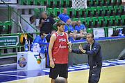 Sassari 19 Agosto 2012 - qualificazioni Eurobasket 2013 - Allenamento<br /> Nella Foto : SIMONE PIANIGIANI<br /> Foto Ciamillo/Castoria