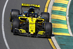 March 23, 2018 - Melbourne, Victoria, Australia - HULKENBERG Nico (ger), Renault Sport F1 Team RS18, action during 2018 Formula 1 championship at Melbourne, Australian Grand Prix, from March 22 To 25 - Photo DPPI Motorsports: FIA Formula One World Championship 2018, Melbourne, Victoria : Motorsports: Formula 1 2018 Rolex  Australian Grand Prix,   #27 Nico Hülkenberg (Renault Sport F1 Team) (Credit Image: © Hoch Zwei via ZUMA Wire)