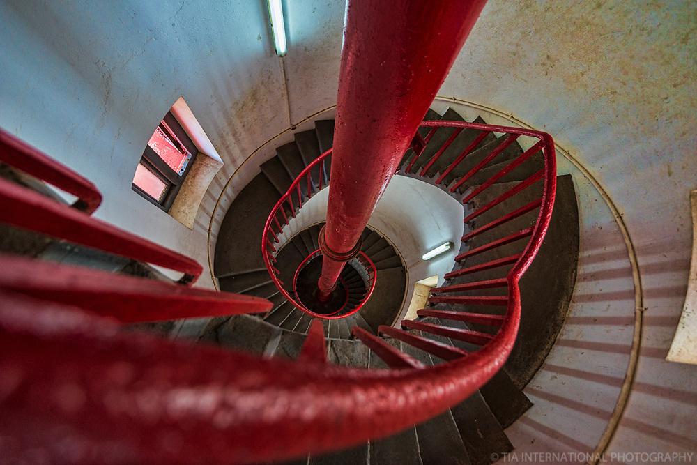 Jamestown Lighthouse (interior)