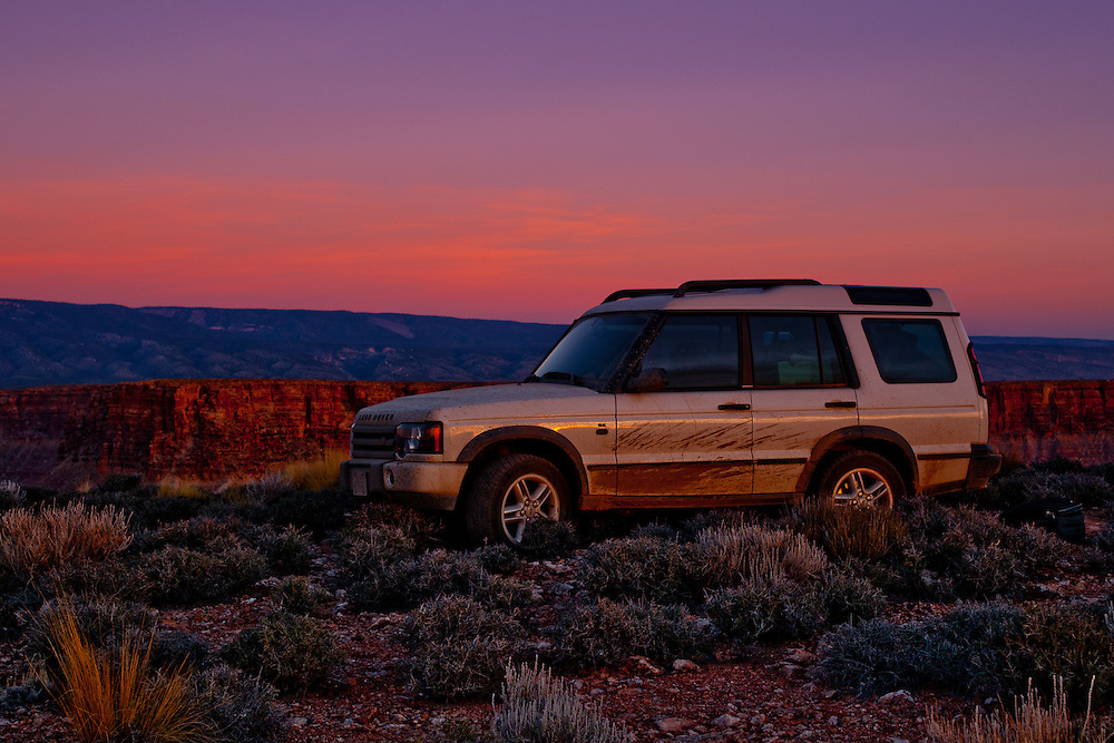 North America, US, United States, USA, Arizona, Bill Green, Pangaea Expeditions, Land Rover, adventure, travel, expedition, offroad, sunset