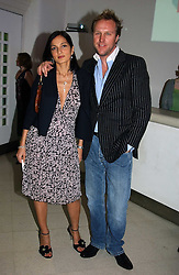 SIMON & YASMIN MILLS at the Art Plus Dance Party 2005 - an evening of live dance, film and partying held at the Whitechapel Art Gallery, 80-82 Whitechapel High Street, London on 21st March 2005.<br /><br />NON EXCLUSIVE - WORLD RIGHTS