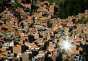Ladera de la Ciudad de El Alto