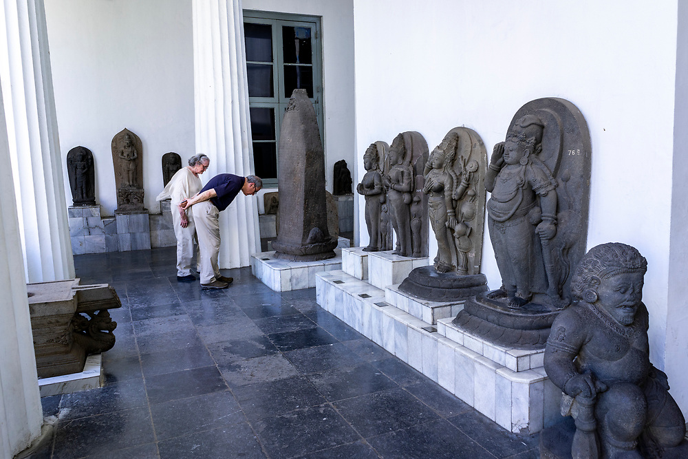 Private Full Day Tour of Jakarta . Get lost inside the National Museum, which has more than 169,376 objects consisted of prehistoric collection, archeology, numismatic and heraldic, ceramic, and ethnography. May 2, 2019 . Visitors check out statues from different eras at the National Museum on May 2, 2019.