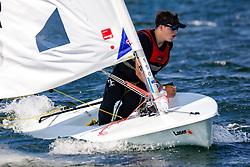 , Travemünder Woche 19. - 28.07.2019, Laser Radial - GER 199843 - Maarten HUND - Württembergischer Yacht-Club e. V污