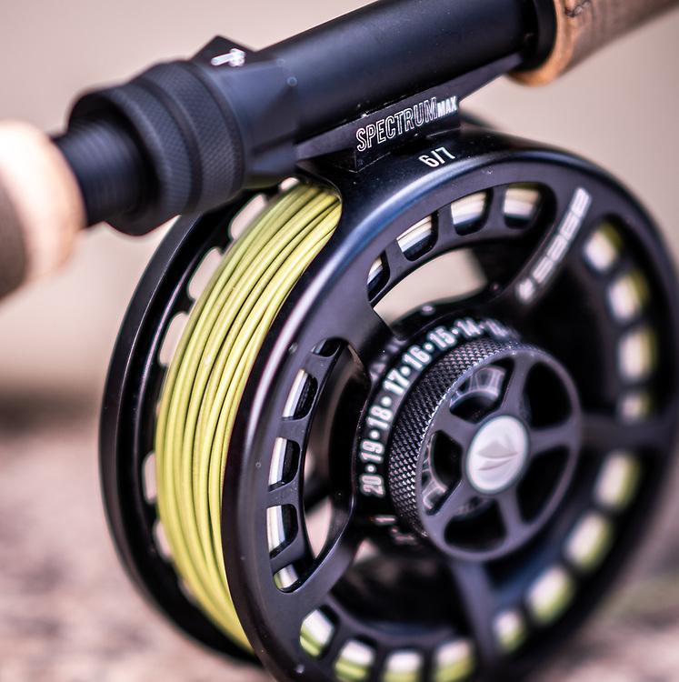 Spectrum Max fly fishiing reel 6/7