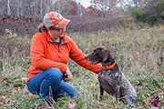 Juli Schrenkler and her GSP training in St. Paul, Minnesota