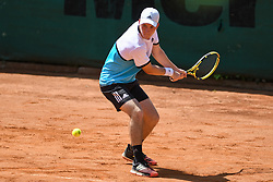 Miha Velicki during final of Drzavno prvenstvo v tenisu za clane in clanice, on June 27th, 2019 in Maribor, Slovenia. Photo by Milos Vujinovic / Sportida
