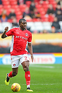 Charlton Athletic defender Anfernee Dijksteel (2) during the EFL Sky Bet League 1 match between Charlton Athletic and Bristol Rovers at The Valley, London, England on 24 November 2018.