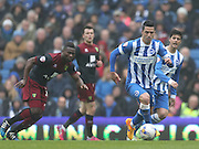 Beram Kayal, Brighton midfielder during the Sky Bet Championship match between Brighton and Hove Albion and Norwich City at the American Express Community Stadium, Brighton and Hove, England on 3 April 2015.