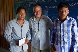 Bill Morse With Teachers