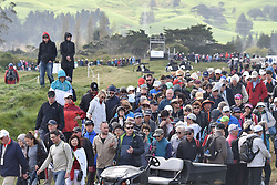 September 30, 2017 - Auckland, Auckland, New Zealand - Huge crowds during day three of the MCKAYSON New Zealand Women's Open at Windross Farm in Auckland, New Zealand on Sep 30, 2017. . Featuring World Number One Lydia Ko, TheMCKAYSONNew Zealand Women's Open is the first ever LPGA Tour event to be played in New Zealand. (Credit Image: © Shirley Kwok/Pacific Press via ZUMA Wire)