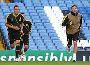 Chelsea & Juventus Training & PC 180912