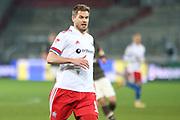 Fussball: 2. Bundesliga, FC St. Pauli - Hamburger SV, Hamburg, 01.03.2021<br /> Simon Terodde (HSV)<br /> © Torsten Helmke