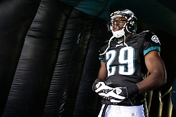 Philadelphia Eagles running back LeSean McCoy #29 enters the field before the NFL game between the Washington Redskins and the Philadelphia Eagles on November 29th 2009. The Eagles won 27-24 at Lincoln Financial Field in Philadelphia, Pennsylvania. (Photo By Brian Garfinkel)