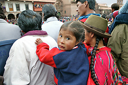 Young Girl At Festival