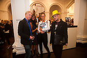 PHILIP TREACY; BARONESS DEBBIE VON BISMARCK, ANDREA DELLAL; BOY GEORGE, Isabella Blow  by Martina Rink.  Haunch of Venison. London. 13 September 2010., DO NOT ARCHIVE-© Copyright Photograph by Dafydd Jones. 248 Clapham Rd. London SW9 0PZ. Tel 0207 820 0771. www.dafjones.com.