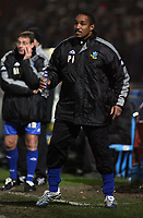 Photo: Paul Thomas.<br /> Macclesfield Town v Swindon Town. Coca Cola League 2. 23/12/2006.<br /> <br /> Paul Ince, Macclesfield manager.