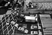 ' Traffic, North bound on 6th Avenue ' New York City, NY