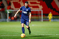 Southend United midfielder Stephen McLaughlin (11) in action  during the EFL Sky Bet League 1 match between Doncaster Rovers and Southend United at the Keepmoat Stadium, Doncaster, England on 12 February 2019.