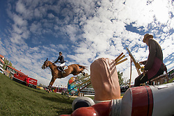 Bruynseels Niels (BEL) - Pommeau du Heup <br /> CP International Grand Prix presented by Rolex<br /> Spruce Meadows Masters - Calgary 2014<br /> © Dirk Caremans
