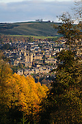 Winter view of Selkirk in the Scottish Borders. Autumn views of Selkirk in the Scottish Borders.
