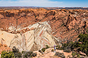 Upheaval Dome. Island in the Sky District of Canyonlands National Park, Moab, USA.