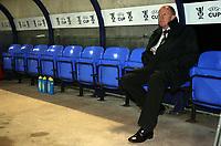 Photo: Paul Thomas.<br /> Bolton Wanderers v Braga. UEFA Cup. 25/10/2007.<br /> <br /> New Bolton manager Gary Megson.