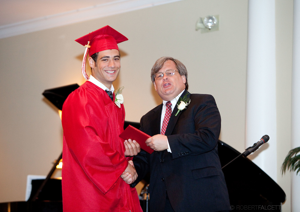 The Master's School, West Simsbury, CT. Graduation 2011.  (Photo by Robert Falcetti). .