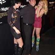 Playboy Night 2004, Horace Cohen met 2 vriendinnen